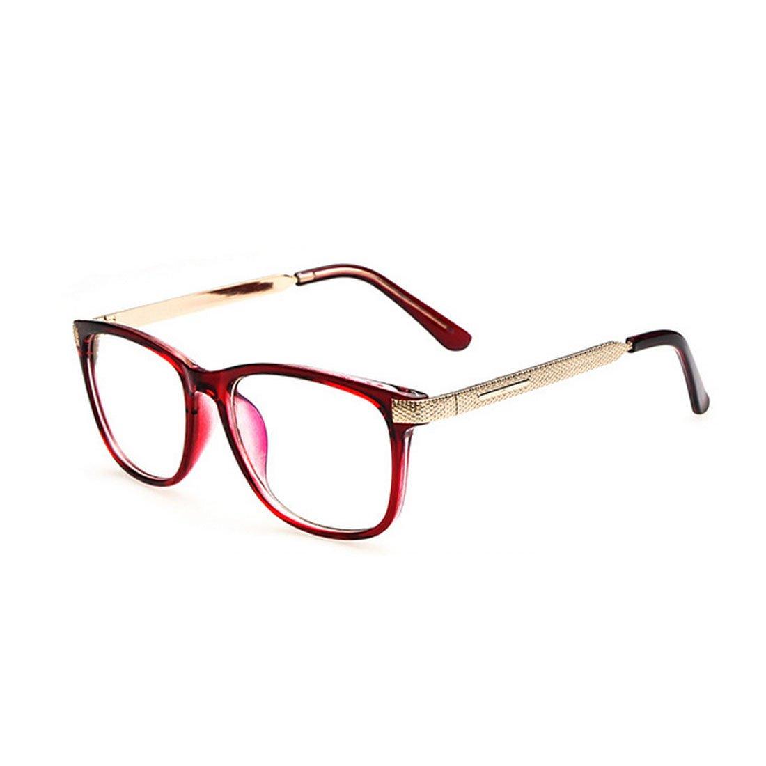 D.King Vintage Prescription Rectangular Eyeglasses Frame Clear Lens Glasses DK6102173-1