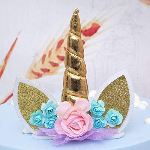STORE-HOMER - New Unicorns Cake Topper Kids Birthday