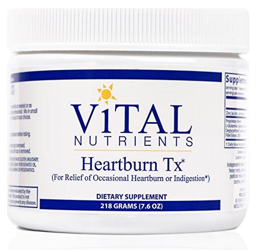 -Brûlures d'estomac TX - des nutriments essentiels pour le soulagement des brûlures d'estomac occasionnelles et l'Indigestion - 218 grammes