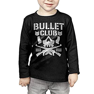 Bullet Club Bone Soldier Toddler Long Sleeve Cotton Tee
