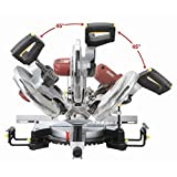 """NEW 12"""" Double-Bevel Sliding Compound Miter Saw w/Laser Guide Trim Moulding"""