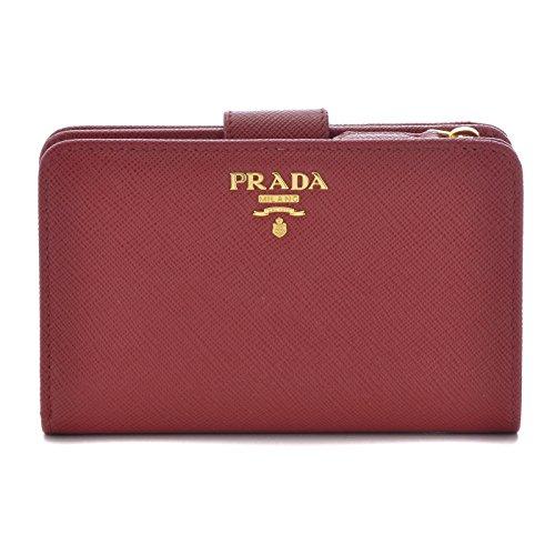 PRADA(プラダ) 型押しカーフスキン 二つ折り財布 1ML225 QWA 68Z [並行輸入品] B01KSWQRQA