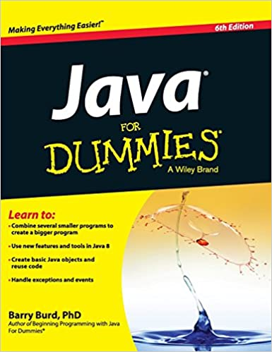 Java For Dummies Quick Reference Computers & Technology Books ...