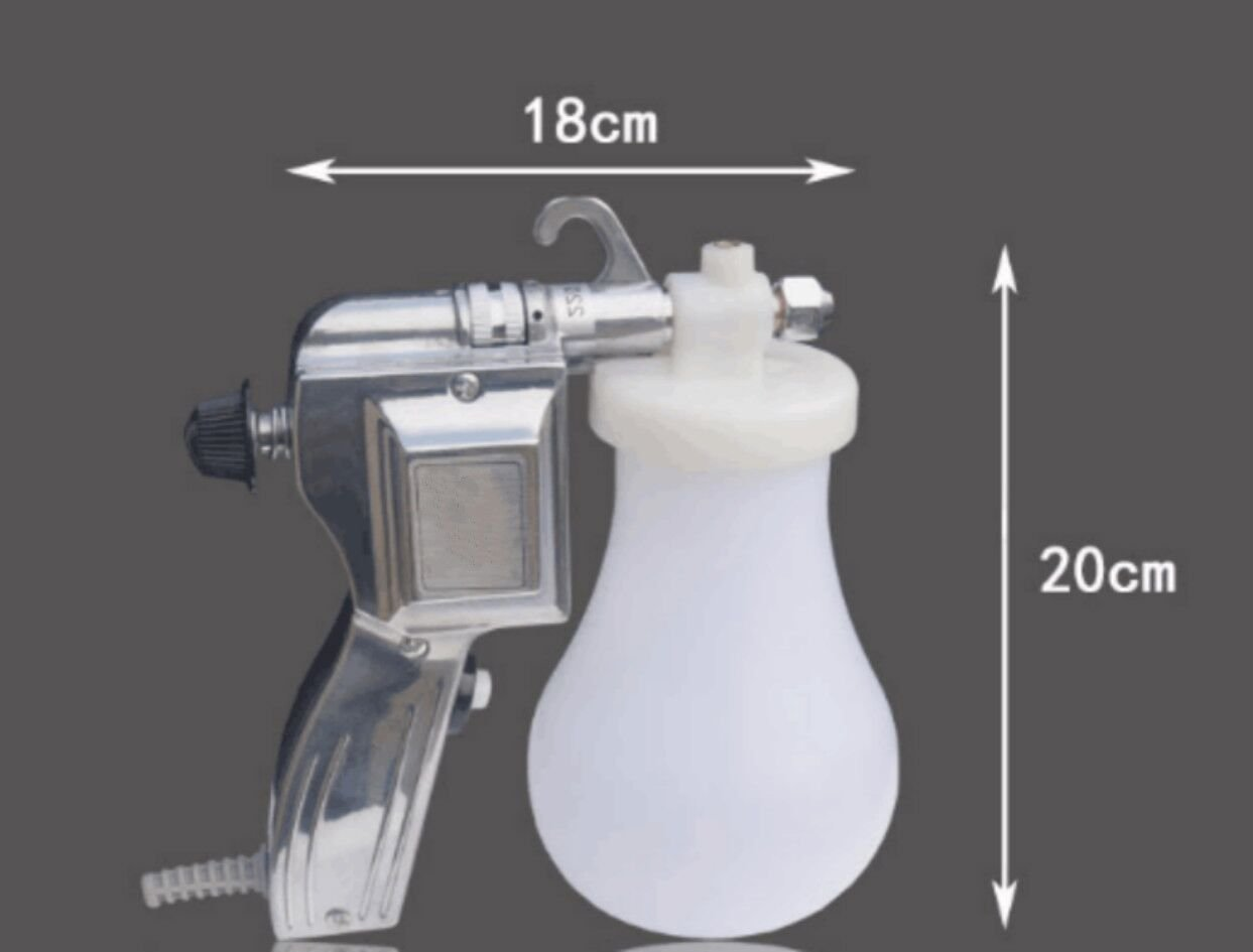 Welljun 220V Electric Textile Spot Cleaning Spray Gun Water Screen Printing Pressure Gun