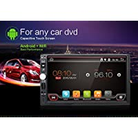 2GB RAM 32G ROM 1024600 HD Screen android 6.0 Car Multimedia Player Navigation Stereo For Universal Quad Core Android Double 2 Din Car Radio Head Unit Non DVD/CD Player Free Camera