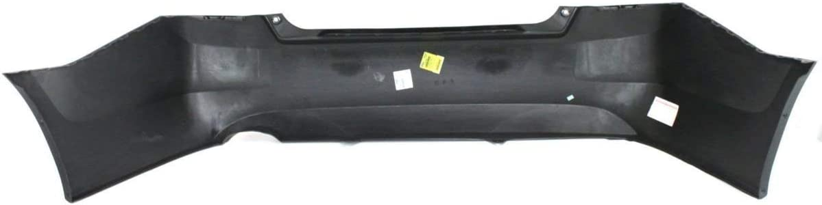 Primered BUMPERS THAT DELIVER Rear Bumper Cover Replacement for 2008-2012 Honda Accord Sedan 08-12 HO1100246
