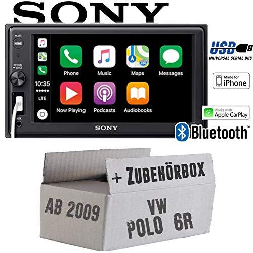 Vw Polo 6r Autoradio Radio Sony Xav Ax1000 2din Bluetooth Apple