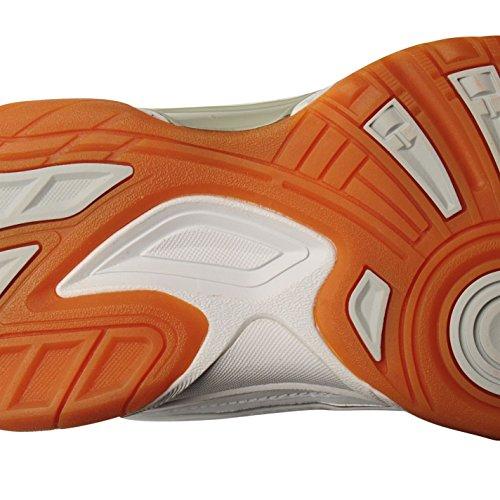 De Indoor Squash Blanco Zapatillas Plateado Slazenger Mujer A6wqzz