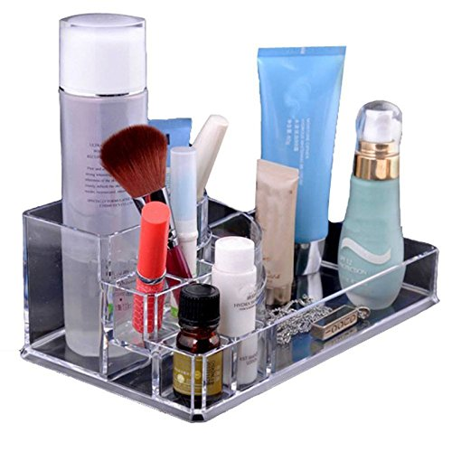 Price comparison product image ACE Clear Makeup Jewelry Cosmetic Storage Display Box Acrylic Case Stand Rack Holder Organizer