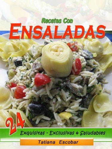 Recetas con Ensaladas (Spanish Edition) by [Escobar, Tatiana]