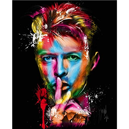 5D DIY Diamond Painting Painted David Bowie ()