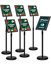 A3(A4) Poster Stand, Adjustable Floor Standing, Aluminum Display Stands, Snap Frame, Poster Board Menu Holder, Advertisement Rack, Sign Stand