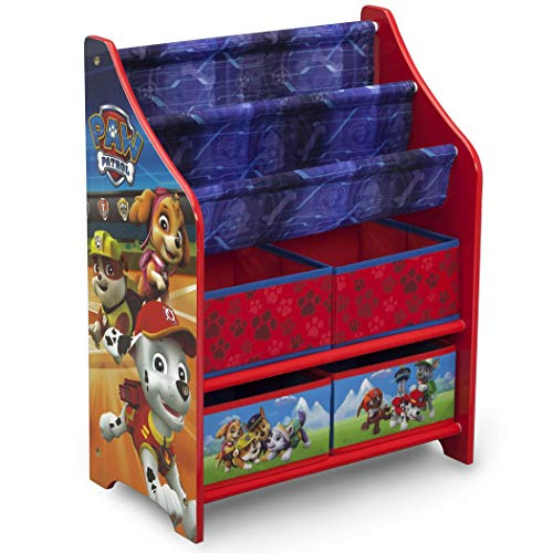 Delta Children Nick Jr. PAW Patrol Book and Toy Organizer
