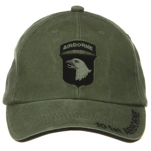 8475cac39a9 Amazon.com  NEW 101st Airborne Division Green Low Profile Cap  Clothing