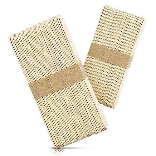 Rayson Wax Sticks Large Wood Waxing Spatula Applicator 6