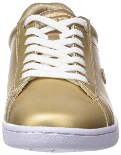 Gld Gold Lacoste Women's SPW 1 Carnaby Evo 118 Trainers Wht Or P74qg6w