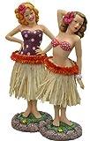 2 Hawaiian 40's Retro Vintage-Styled Hula Pin Up Girl Car Dashboard Dollsl