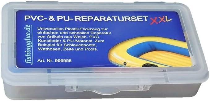 Wasserdichtes Pool-Patches Klebeset Reparaturset F/ür Schlauchboote F/ür Schlauchboote Kajaks Seasaleshop PVC Reparatur Patch Kleber Kit Schwimmb/äder Spielzeug