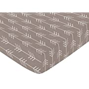 Sweet Jojo Designs Fitted Crib Sheet for Outdoor Adventure Baby/Toddler Bedding - Arrow Print