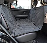 RiLahy PoochShield Dog Seat Cover a Large Size Anti-Slip Waterproof Pet Seat Cover Fits Cars, SUVs, Trucks, The Back Seat Hammock Sling Style Easy To Install Pet Travel Accessories Protects Your Seat Review