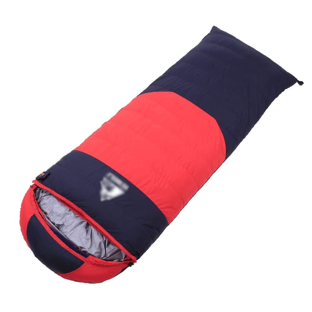 Schlafsack - 320T wasserdichtes Samt aus reißfestem Nylon, Outdoor-Outdoor-Herbst und Winter können doppelte Schlafsäcke genäht Werden, geeignet für  Mittagspause im Innenbereich, Outdoor-Aktivitäten