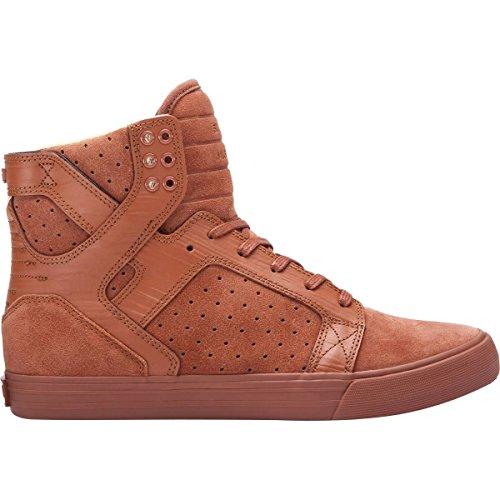 Supra Skytop Medium Sneaker Braune Patina