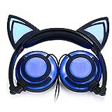 Best As Seen On TV Headphones For Tvs - Cat Ear Headphones, Wired Headphones Flashing Glowing Cosplay Review