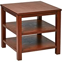 Ave Six OSP Furniture Merge Square End Table, 20