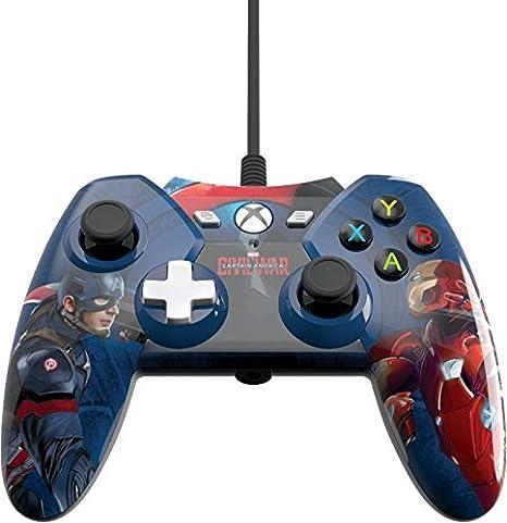 Xbox One Licensed Marvel Civil War Wired Controller With 3.5mm Audio Jack [Importación Inglesa]: Amazon.es: Videojuegos