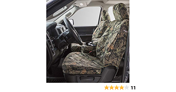 Duck Weave Covercraft Carhartt Mossy Oak Camo SeatSaver Front Row Custom Fit Seat Cover for Select Chevrolet//GMC Models SSC3266CAMB Break-Up Country