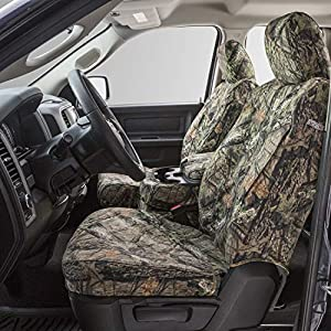 Gravel Carhartt SeatSaver Second Row Custom Fit Seat Cover for Select Chevrolet//GMC Models Duck Weave