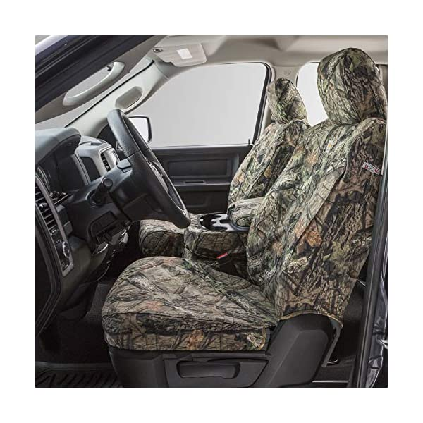 SSC3410CAMB Break-Up Country Duck Weave Covercraft Carhartt Mossy Oak Camo SeatSaver Front Row Custom Fit Seat Cover for Select Dodge//Ram Models