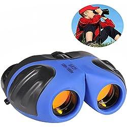 Binoculars for Kids, TOP Toy Shock Proof Compact Binoculars for Kids Gifts Toys for 3-12 Year Old Boys Blue TT02