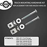 Truck Bed Mounting Hardware Kit Set of 6