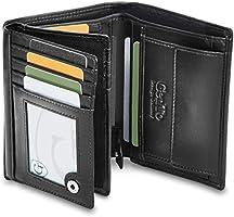 GenTo® Dublin Geldbörse mit Münzfach - TÜV geprüfter RFID, NFC Schutz - geräumiges Portemonnaie - Geldbeutel für Herren...