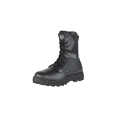 ad659511476 CONDOR Men's Murphy Zip 9'' Tactical Waterproof Leather, Nylon Fabric Boots