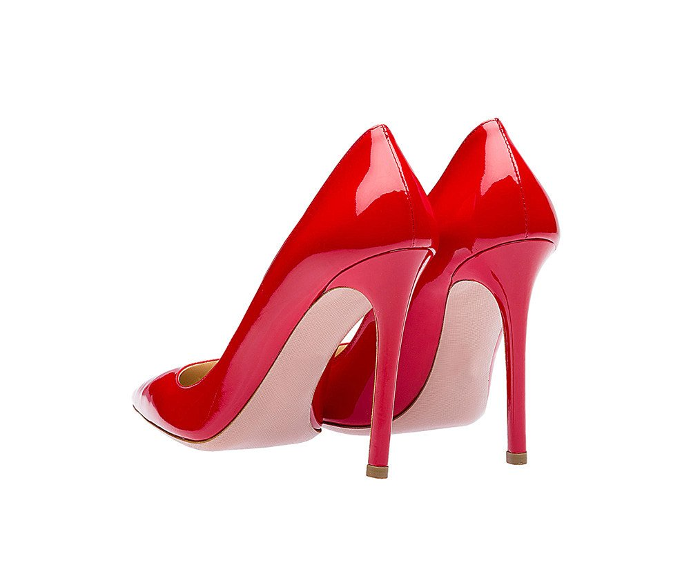 SexyPrey Women's Pointy Toe Stiletto Shoes Formal Office Evening US|Red Pumps B074M3TLSN 8 B(M) US|Red Evening f3ccba