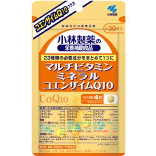 マルチビタミン ミネラル コエンザイムQ10(120粒×10個セット) B010UWCDN4