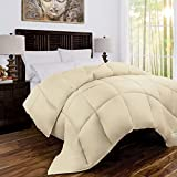 Alternative Comforter - Mandarin Home Luxury 100% Bamboo Derived from Bamboo Comforter with Goose Down Alternative Fill - All Season Hotel Quality Eco-Friendly Hypoallergenic Comforter - King/Cal King - Ivory