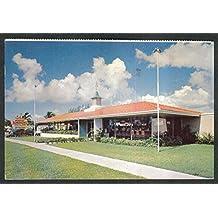 Howard Johnson's Restaurant Savannah GA postcard 1955