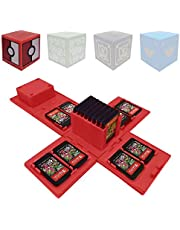 Spelletjes Opberghoes Compatibel voor Nintendo Switch - Video Game Card Holde Beschermend Opbergsysteem Game Card Organizer Travel Container Box Harde Shell met 16 Game Card Slots