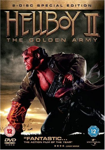 Hellboy 2 - Golden Army 2 Disc Edizione: Regno Unito Reino ...