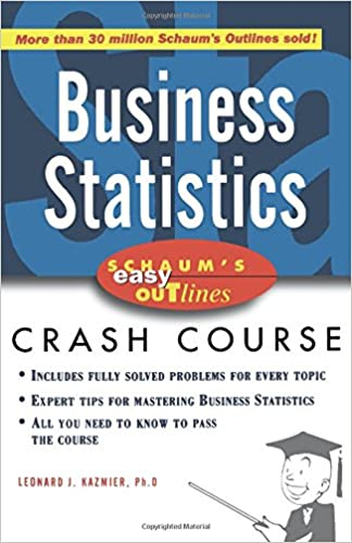 Schaum's Easy Outline Of Busines Statistics: Based On Schaum's Outline Of Theory And Problems Of Business Statistics Descargar Epub Gratis