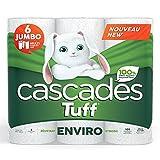 Cascades Tuff Enviro Paper Towels, 2-ply, 105 Sheets per Roll - 6 Rolls