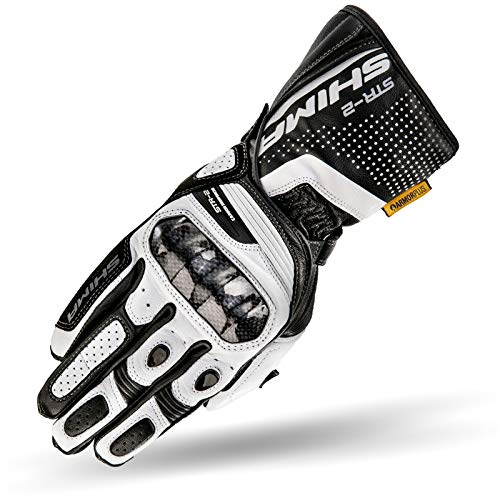 SHIMA STR-2, Motorrad Handschuhe Touchscreen Touchscreen Sommer Leder Sport
