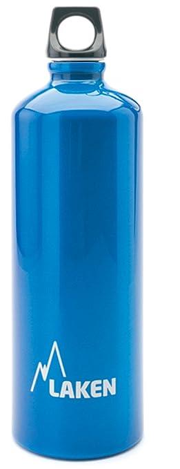 108 opinioni per Bottiglia d'acqua Laken Futura bocca stretta tappo a vite con anello, 1L, Blu