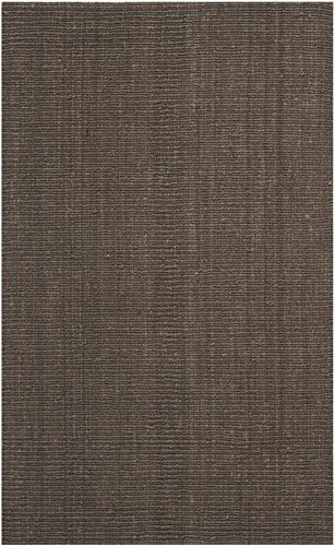 Brown 3'3'x5'3' Area Rug (Safavieh Natural Fiber Collection NF447D Hand Woven Brown Jute Area Rug (3' x 5'))