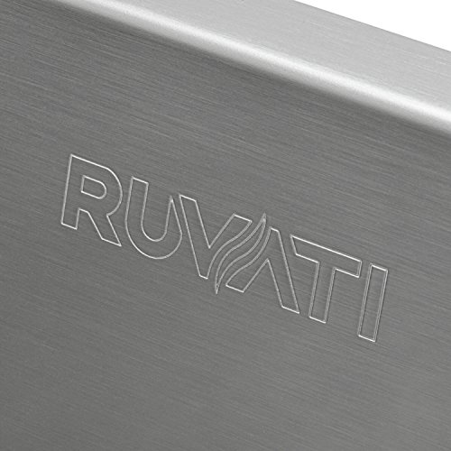 Ruvati 14-inch Undermount 16 Gauge Tight Radius Bar Prep Sink Stainless Steel Single Bowl - RVH7114 by Ruvati (Image #6)