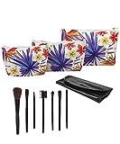 Best JAVOedge Makeup Travel Bags - JE Bundle (3 Piece Set) Cosmetic Tropical Bags Review