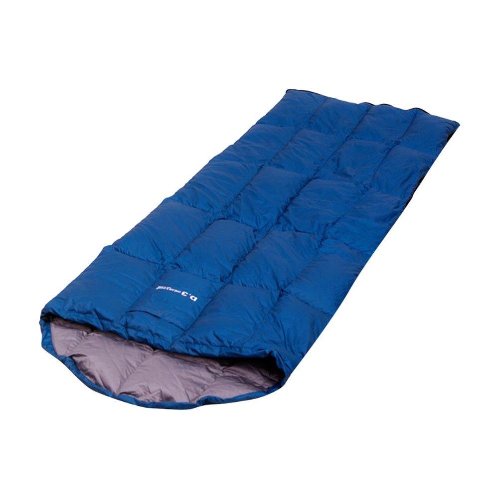 [HOMEDREAMER]Smart Duck Down Rectangular Type Sleeping Bag Hiking Camping Travel [HOMEDREAMER]スマートダックダウン長方形タイプの寝袋ハイキングキャンプ旅行 [並行輸入品] B079Z5W3SC  Blue